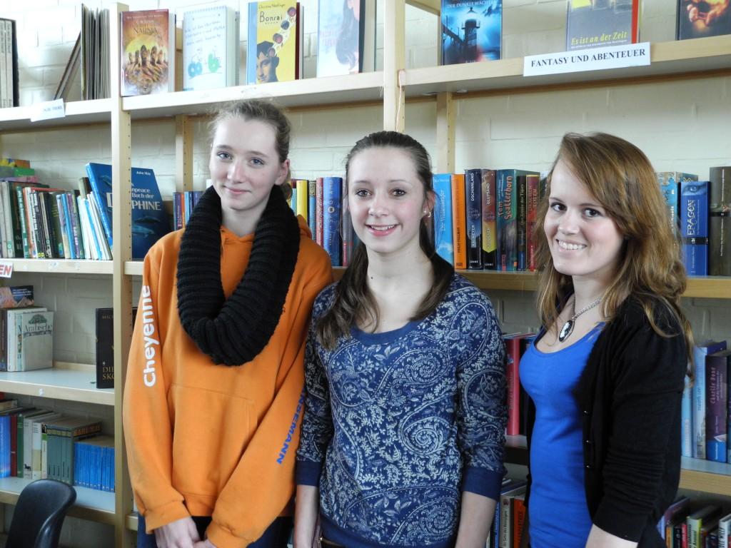 Das Team der Schülerbücherei