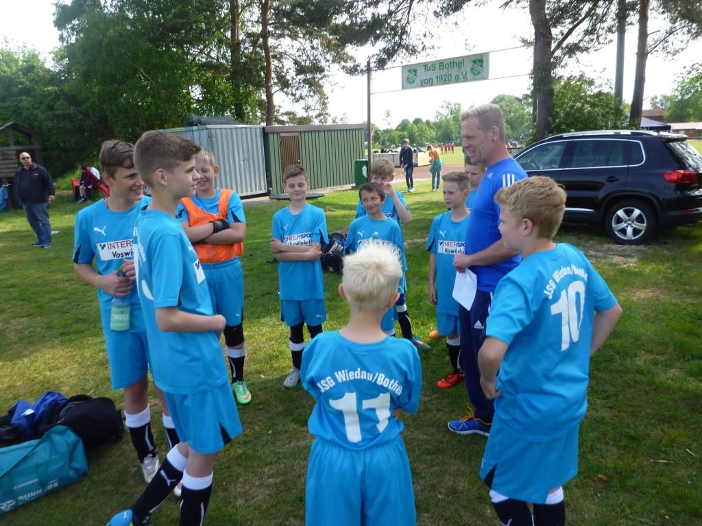 Wiedau-Schule Team 1